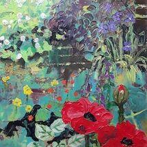 """""""Rich Garden Texture"""" by Margaret Cummins"""