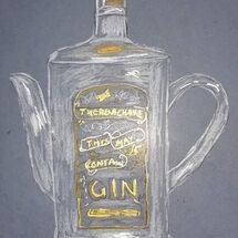 """""""The Gin Teapot"""" by Liz Barclay"""