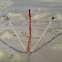 """Red Arrows"" by Gwynith Young"