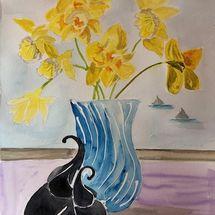 Daffodils and Elephants!!
