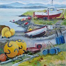 """Before Balfour Beatty (Dalgety Bay Boat Club)"" by Margaret Cummins"