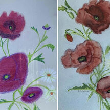 """Poppies and Daisies"" by Hazel Campbell"