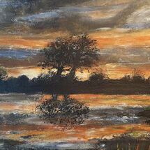 """Sunset on the Water"" by Judith Jaggard"