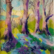 """""""Bluebell Woods"""" by Joan Patterson"""