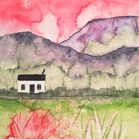 """The wee 'hoose'"" by Ingrid Mayes"