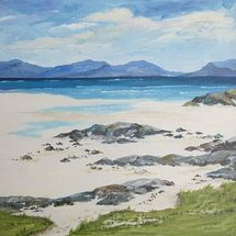 Ardnamurchan Mountains from Mull