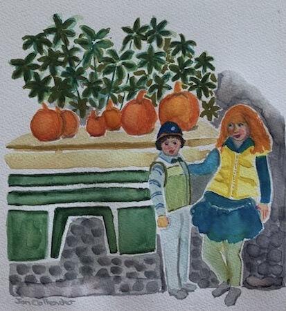 """The Pumpkin Eaters"" by Jan Callender"