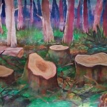 """""""After the Felling"""" by Joan Patterson"""