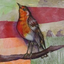 """A Robin's call"" by Joan Patterson"