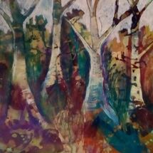 """""""Dancing Trees"""" by Joan Patterson"""