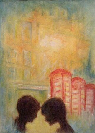 """Night, night / Happy Valentines 2021"" by Peggy Thomas"
