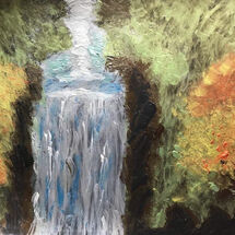 """Waterfall"" by Hazel Campbell"