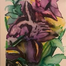 """Irises"" by Jan Callender"