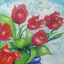 """""""Tulips in the Sun"""" by Joan Patterson"""