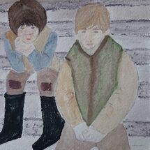 """The 2 Ruffians"" by Judith Jaggard"