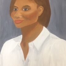 """Denise Lewis"" (Athlete) by Jill Brown"
