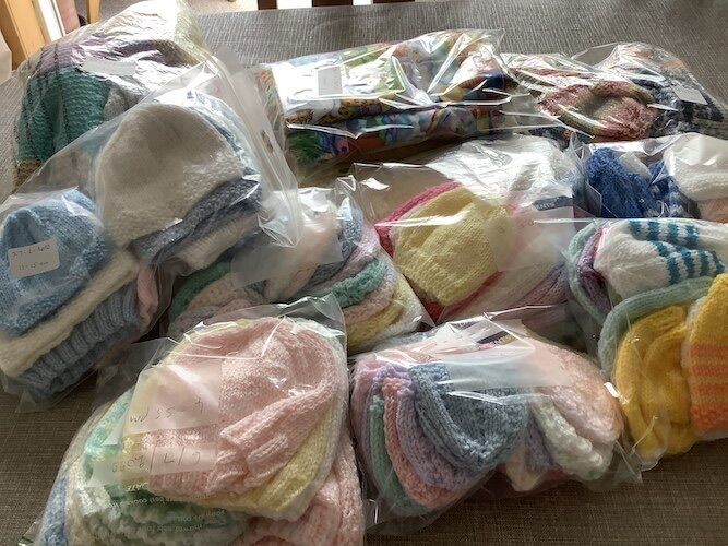 More beautiful hand crafted baby items created during Lockdown