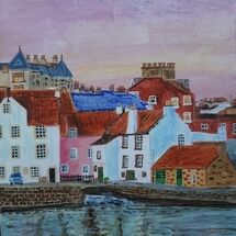 """Pittenweem Sunset"""