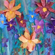 """'Irises"""" by Jean Boath"""
