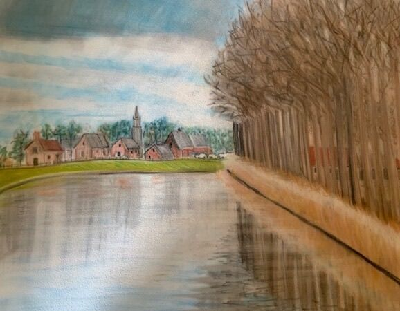 Canal to Bruges