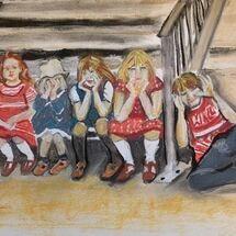 """A brief sit down"" by Jan Callender"