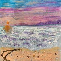 """Seascape"" by Hazel Campbell"