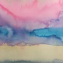 "'Rainbow Blooms"" byPetrina kerr"