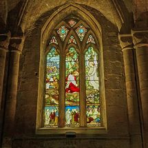 Dunfermline Abbey by Bill Cunningham