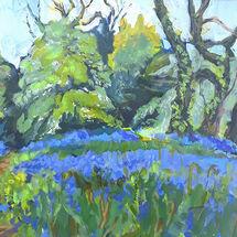 """""""Aberdour Bluebells"""" by Margaret Cummins"""