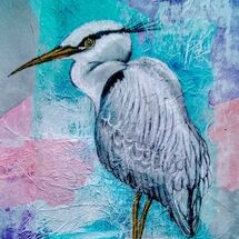 """Heron' by Joan Patterson"