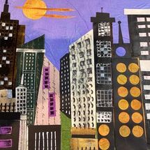 """Urban Skyline"" by Maggie Brown"