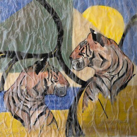 """""""Tigers"""" by Barbara Wade"""