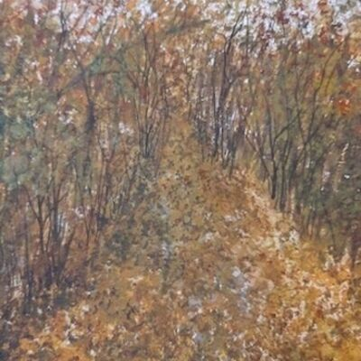 """""""A Carpet of Leaves"""" by Judy Jaggard"""