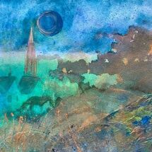 """'Blue Moon"""" by Maggie Brown"""