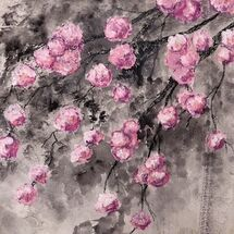 "'Blossom against a dark sky"" by Barbara Wade"