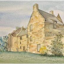 """""""Aberdour Castle"""" by Marjorie Rae"""