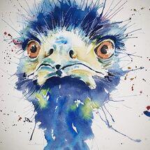 """""""Emu"""" by Moira MacPherson"""