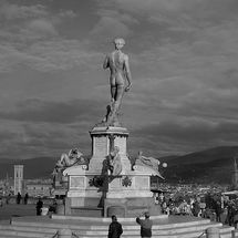Florence - Photograph in Black and White