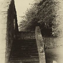 Stairs to nowhere by Bill Cunningham