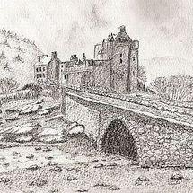 eileen donan castle b