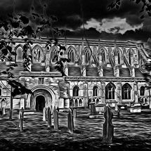 "Gothic Abbey - Photography -""Ph-Art"""