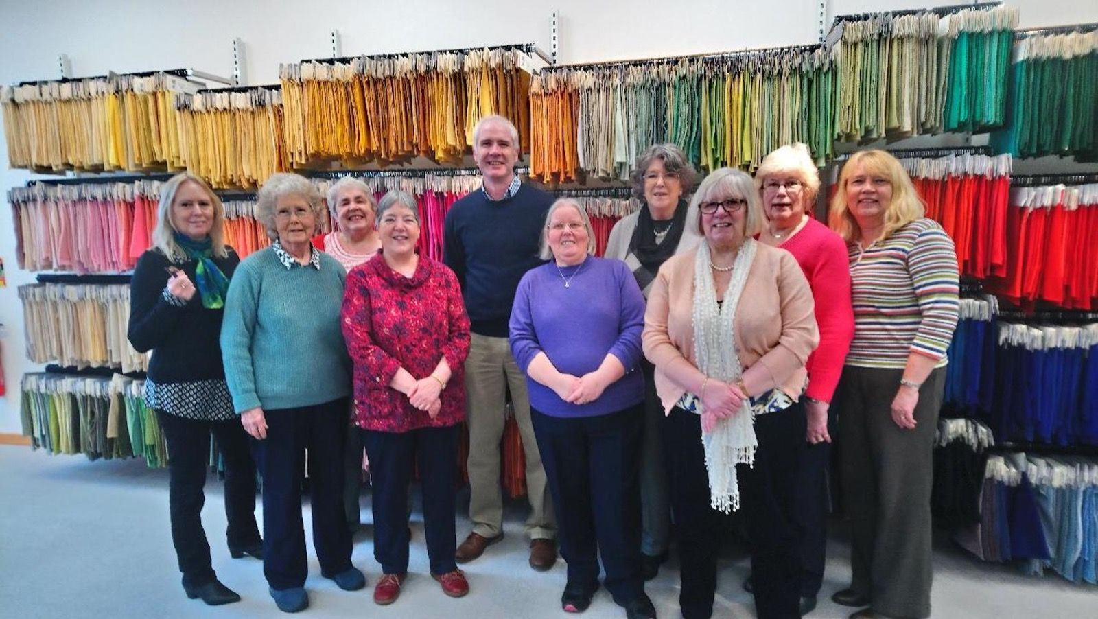 Crafters visit to Todd and Duncan Mill 19 February 2019
