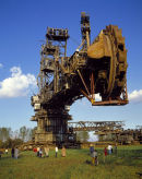 Bucket wheel excavator near Cologne.
