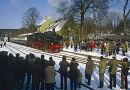 Steam train at Warstein, Germany.