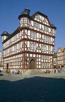 Melsungen Town Hall, Hesse. Germany.