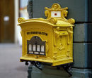 Old post box, Germany.