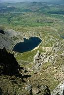 View from Cader Idris, Wales.