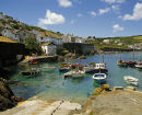 Coverack Harbour, Cornwall.