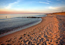 West beach on Darss, Germany.