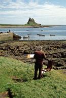Lindisfarne or Holy Island, Northumberland.